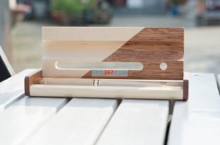 hộp bút gỗ khắc tên